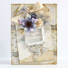 Dear Mom Card *Pion Design* - Scrapbook.com