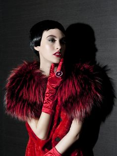 Helen Yarmak Fur and Jewelry - Prive Hair - Erik Garcia Photography