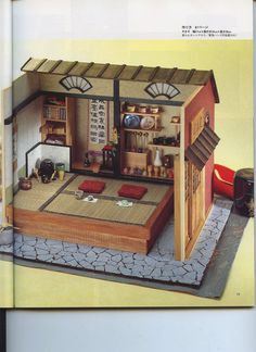 Traditional Japanese Doll House Making- Tutorial & Pattern - Instant Download…