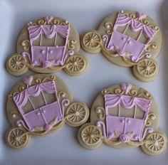 Cinderella carriage cookies
