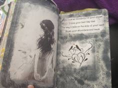 Wreck this Journal Draw using a piece (or several pieces) of your hair Ed Sheeran