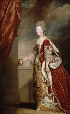 Joshua Reynolds | Jane Maxwell,4th Duchess of Gordon | Norton Museum of Art , Palm Beach, FLA. This shows Jane cleverly disguising the injured finger on her right handby holding her ducal coronet...and seeing this portrait confirmed what other research suggested...that it WAS her right hand!
