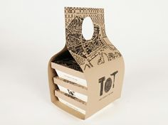 Cool take-away packaging