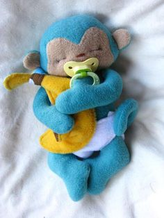 (9) Name: 'Sewing : Tiny Monkey Sewing Pattern