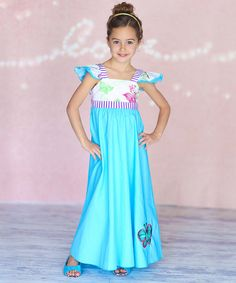 Look at this Jelly the Pug Turquoise Kira Dress - Infant on #zulily today!