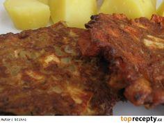 Šmakoun ála cikánský řízek Tofu, Meatloaf, Vegetarian, Beef, Chicken, Meat, Steak, Cubs