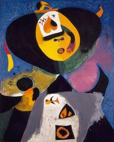 Joan Miró – Portrait N°1, 1938