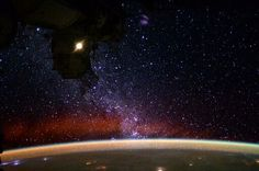 View of our galaxy from space