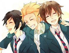 Daily Lives Of High School Boys <3