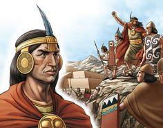 El Inca, con sus ejércitos, logró avasallar a pueblos y etnias inferiores.