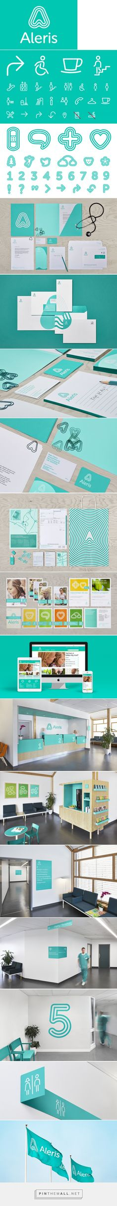 Brand Identity and stationery for private health & aged care organisation Aleris by Bold