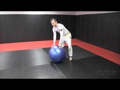 Jeff Glover, Stability Ball Work Top: Jiu-Jitsu Magazine, Issue #24 - YouTube