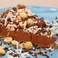 Raw Hazelnut Cheesecake