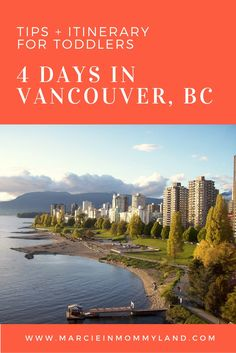 Looking for a vacation destination that has plenty for babies and toddlers? Vancouver, BC features Stanley Park, Vancouver Aquarium, Capilano Suspension Bridge Park, Sea to Sky Gondola, Harbour Cruises, and more! Click to read more or pin to save for later. www.marcieinmommyland.com