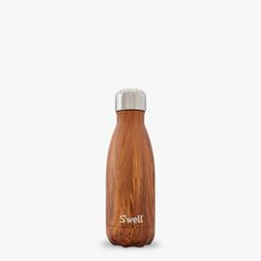 teakwood wood collection 12 hour hot swell water bottle