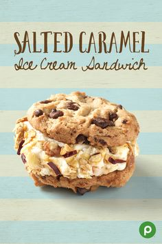 The great thing about the Publix Aprons homemade Salted Caramel Ice Cream Sandwich dessert is....everything.