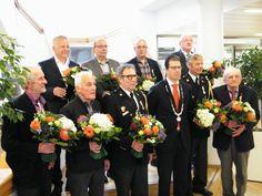 Dhr. Kistemaker (rechts boven) onze voorzitter geridderd. 26 april 2016
