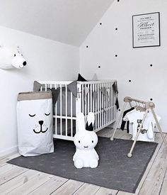 What a sweet little boy's room! The gorgeous home of @mitliversmukt Miffy lamp and Cam Cam Quilt are all available in our online store ✨ . #kidsroom #kidsroomdecor #nordichome #nordicinspiration