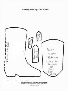 boot template