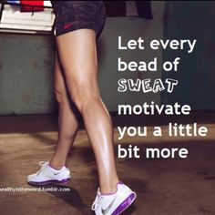 sweat is just fat burning