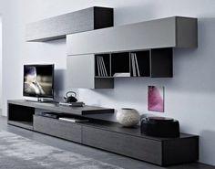 Mueble Modular Mesa Rack Living Tv Lcd Progetto Mobili - $ 6.197,00