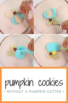 Are you looking for an easy pumpkin cookie to make this fall or Halloween? Try these beautiful and elegant pumpkin cookies! They are made with a bunny cookie cutter, which is sometimes easier to find than a pumpkin cutter. These pumpkin cookies make a beautiful addition to a fall cookie platter, a Halloween party, or as a fun treat to make with your kids! #thebearfootbaker #halloweencookies #halloweentreeats #bakingwithkids Halloween Cookies, Halloween Party, Halloween Decorations, Fall Cookies, Pumpkin Cookies, Little Pumpkin, A Pumpkin, Cookie Countess, Flood Icing