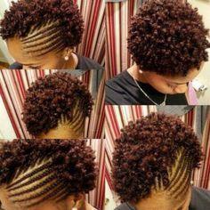 #naturalhair #twa hairstyle