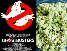 """Ghostbusters"" Slime Popcorn ... And 6 More Halloween Recipes Inspired by Scary Movies - Yahoo She Philippines"