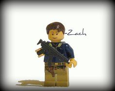 My lego Zombie Apocalypse Sig-Fig (pikniked 2) | Flickr - Photo ...