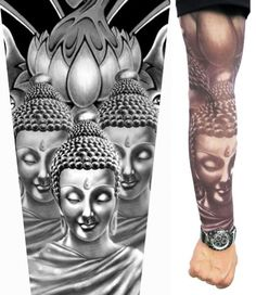 Image detail for -Buddha Tattoo Sleeves