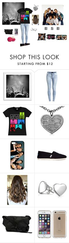 """At The BSB Concert :)"" by queening2015 ❤ liked on Polyvore featuring Object Collectors Item, Old Navy, TOMS, Bling Jewelry, Bao Bao by Issey Miyake, Speck, Eos and backstreetboys"