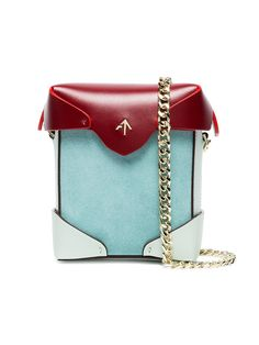 MANU ATELIER Multicoloured Pristine Leather Cross Body Bag $402
