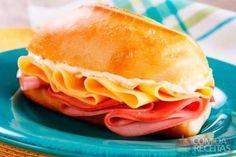 Receita de Sanduíche de mortadela saboroso em receitas de paes e lanches, veja essa e outras receitas aqui!