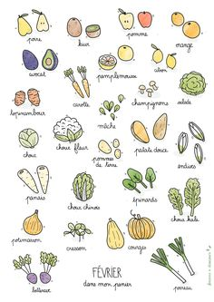 Fruits & légumes de saison – Février