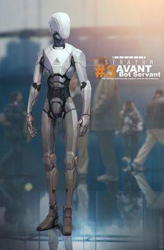 ArtStation - Stratum - Bot Servant, Bjorn Hurri