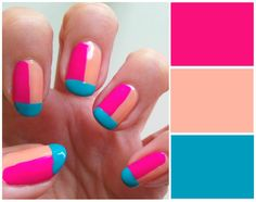 BEAUTY | 15 Colorful Nail Art Designs To Try Out This Summer | Pink Chocolate Break | Fashion Inspiration | Lifestyle Blog | DIY Fashion | Nail Art Designs | Inspirational Quotes | Chocolate | Budget Travel