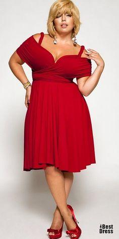 Dress-transformer for full Marilyn