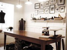 Discover ideas about alteration shop Alteration Shop, Modern Tailor, Suit Stores, Shop Interior Design, Design Room, Store Design, Tailor Shop, Leather Workshop, Sewing Rooms