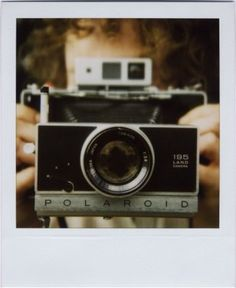 the polaroid camera.