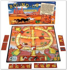 Round-Up Cooperative Game - Ages 3-5, 6-8