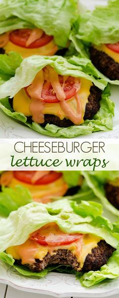 Cheeseburgers… Mmmm. Why are they so dang delicious? Even when I'm trying to eat lighter I still won't deny myself a cheeseburger. That's when these lettuce wrapped babies make an appearance! A flavorful burger topped with cheese, tomato, and a mouth-watering spread is always a winning combo. Wrap it up in a nice piece of …