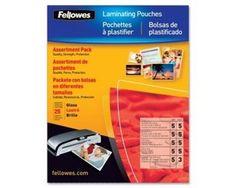 Fellowes 52018 Laminating Pouch Starter Kit - GE7663