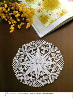 Kira scheme crochet: Scheme crochet no. 1268