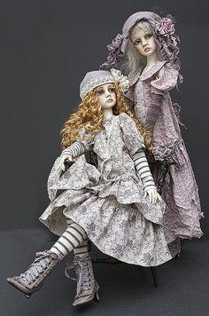 Dollstown  Seola 13 and Amy by jeanoak, via Flickr