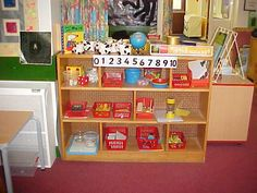Maths area to encourage chn to access resources independently