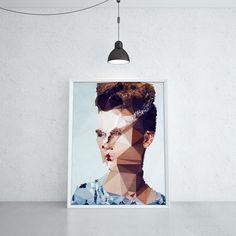 PORTRAIT OF NELLY (KUBISTIKA Modern cubism Art | by BORIS DRASCHOFF)