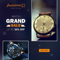 Freewebpsd - Free Graphic resources for everyone Top Watches For Men, Luxury Watches For Men, Free Banner, Best Resolution, Goods And Services, Watch Sale, Watches Online, Omega Watch, Shop Now