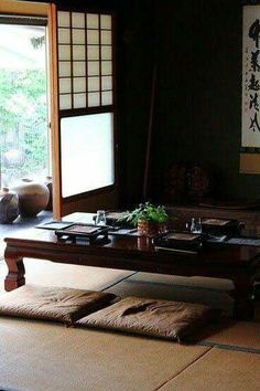Brilliant Asian Home Decor Ideas 5238336588 Wonderful information to make a truly classy japanese home decor living room . The Ideas shared on this imaginative day 20181210 , Reference 5238336588 Japanese Living Room Decor, Japanese Home Decor, Asian Home Decor, Japanese Decoration, Japanese Homes, Japanese Furniture, Traditional Japanese House, Japanese Interior Design, Asian Interior