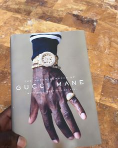 "186k Likes, 4,824 Comments - Gucci Mane (@laflare1017) on Instagram: ""Are y'all ready for my book? Trapper turned author #TrapGod #TheAutobiographyOfGuccimane  Now avail…"""