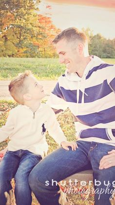 Father Son Picture. Photo by Shutterbug Photography
